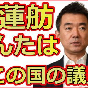 橋下徹が立憲民主党の蓮舫や野党をド正論で完全論破の大爆笑