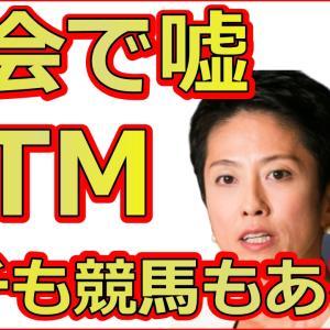 国民民主党の奥野総一郎が国会で嘘に蓮舫もパチンコ擁護で大爆笑