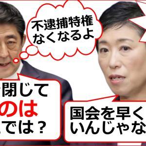 立憲民主党の辻元清美が安倍首相に会期延長もブーメランで大爆笑の面白国会実況