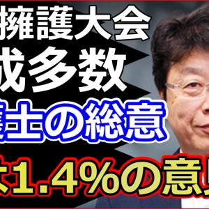 京都の弁護士が日弁連に提訴で北村弁護士が実態を暴露で大爆笑