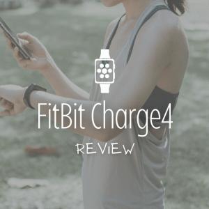 初めてのスマートウォッチに!FitBit charge4レビュー