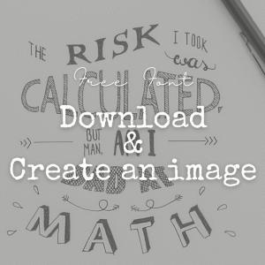 フリーフォントのダウンロードやロゴ用透過画像作成までできるサイトがすごい