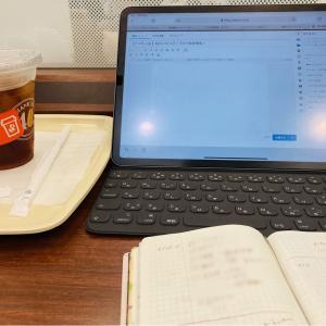 たわいもない朝のごほうび/ブログ執筆環境/福岡市内の雨