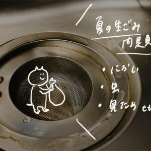 【一人暮らしにも】虫・臭いを寄せ付けない生ゴミ処理習慣。三角コーナー持たない/生ゴミ冷凍