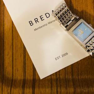 【アラサーOLの持ち物】ミニマルだけどキラキラなBREDAの新作腕時計で仕事中のテンションを上げたい【PR】
