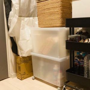【無印・IKEA】片付け下手の備蓄品収納【ウォークインクローゼットの中身】
