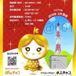 GBS岐阜放送(FM補完中継局)より返信