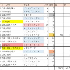 6/13(土)・6/14(日)競馬回顧