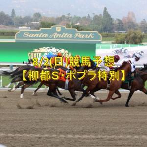 8/2(日)競馬予想【柳都S・ポプラ特別】