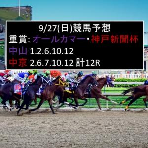 9/27(日)競馬予想