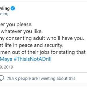 ハリポタ作者J・K・ローリング絶賛炎上中! もはや性の多様性の問題ではなくなっているような・・・