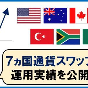 スワップ運用を7か国の通貨に分散してスタート