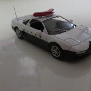 1/64 ヒコセブン ホンダNSX(NA2) 栃木県警パトロールカー