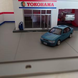 1/64 BM CREATIONS  トヨタ カローラ 1996 AE100 ブルー 右ハンドル