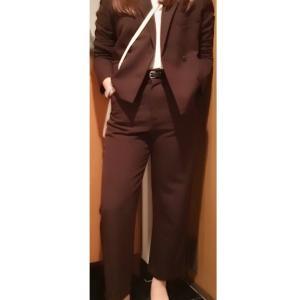シンプル好き骨格ウェーブコーデ「ZARA・ウェーブさんが似合うジャケットのポイント」