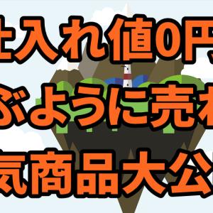 仕入れ金0円の人気商品を公開!せどらーは今すぐ動くべき!
