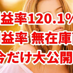 利益率120.9%!高利益率 無在庫商品を今だけ大公開!