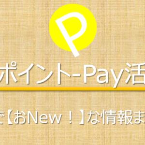 【2019/9/21更新】ポイント-Pay活 ナウでおとくなキャッシュレス還元キャンペーン情報まとめました!そして攻略は?