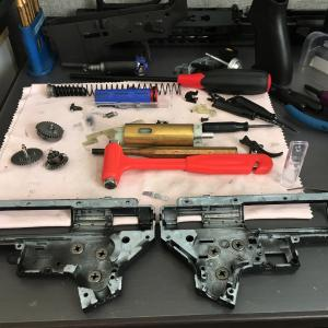M4 グリップ ステッピング加工