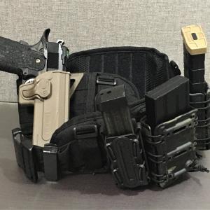 サバゲー 腰回り装備