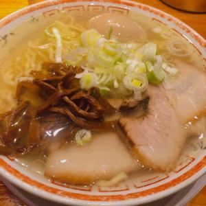 ◆田中そば店@秋葉原◆あっさり、でもコクのある透き通ったスープの塩ラーメン!