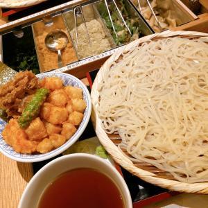 ◆稲庭うどんとめし金子半之助@三越前◆行列なしで本店の天丼がミニで味わえる!つるつる稲庭うどんのトッピングも自由で一度で二度美味しい