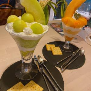 ミルピグパフェ部@関内◇旬のフルーツを使ったシメパフェが食べられるチーズにこだわったカフェ・バー