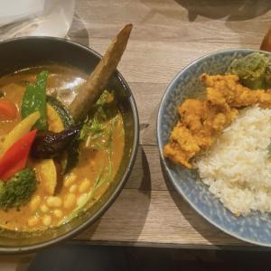 私がスープカレーにはまった札幌路地裏スープカリィ侍!北海道直送お野菜が美味しい!