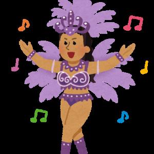 【画像】女子小学生、サンバカーニバルでギリギリな衣装を着せられてしまう