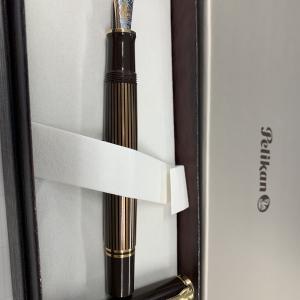 【2019年特別生産品】ペリカン スーベレーンM800茶縞【詳細レビュー】