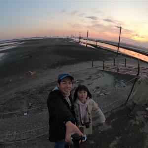 まさに日本のウユニ塩湖!!千葉県 江川海岸!
