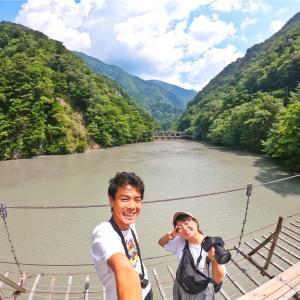 死ぬまでに渡りたい吊り橋!静岡県、夢の吊り橋!