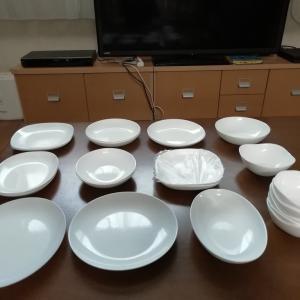 【パンまつり】の皿の枚数!
