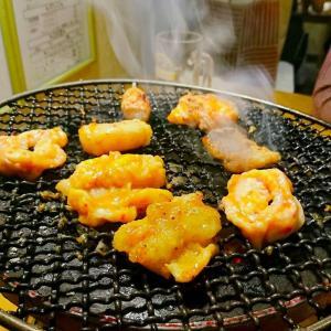 横浜橋通商店街すぐホルモンを手軽に食べれるお店!炭火焼き肉『のぶ』