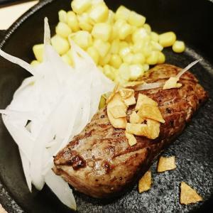 関内セルテ6階 夜景の綺麗な立呑屋さん『ラッキー』350円のステーキを食べて参りました