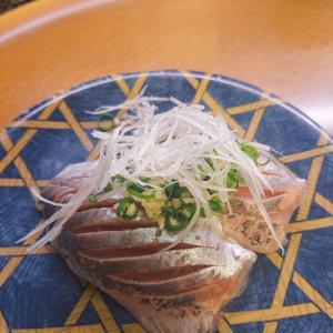 アジの握りを食べたいから伊豆の回転寿司『花まる銀彩』♪