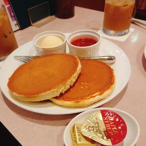 休みの日には珈琲とパンケーキ♪『珈琲館』
