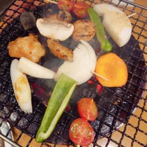 横浜橋通商店街からすぐ炭火焼肉『のぶ』でホルモン焼き♪
