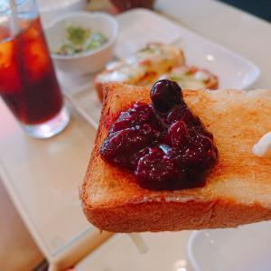 横浜橋通商店街の喫茶店『たから茶屋 Mio kitchen』自家製ジャムのバタートースト♪