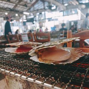 木更津港海鮮茶屋『活き活き亭』活きた魚貝類を目の前で焼いていただきます