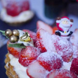 ☆クリスマスレッスン イチゴのタルト☆
