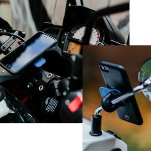 バイクに人気のスマホホルダー「Quad Lock」にUSBチャージャー登場!
