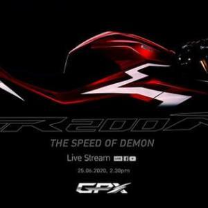 高コスパバイク「GPX」にフルカウルDEMON GR200Rが登場!