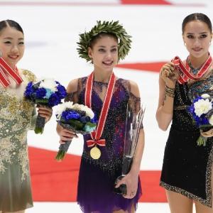 GPシリーズ2019 NHK杯(女子)結果、感想、動画少々…