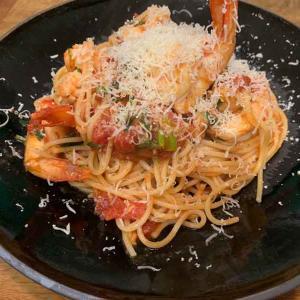 エビのトマトソースパスタの作り方:簡単レシピ