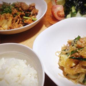 残り物のお野菜で作る簡単チャプチェ