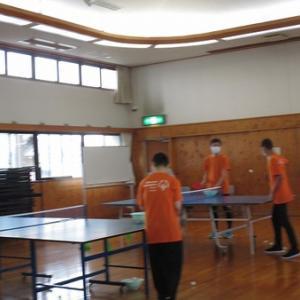 昨日はスペシャルオリンピクス日本・静岡では卓球の練習