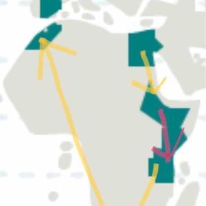 アフリカ大陸周遊ルート決定!!~女1人バックパッカー旅~