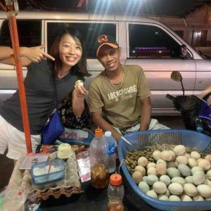 フィリピン〜バロット食べてみた。茹で卵の中に鶏の子供がいるヤツ。グロ注意〜