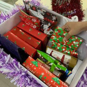 フィリピン〜先生との匿名クリスマスプレゼント交換が今日から始まりました〜